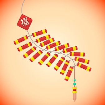 Año nuevo chino petardos por lotes