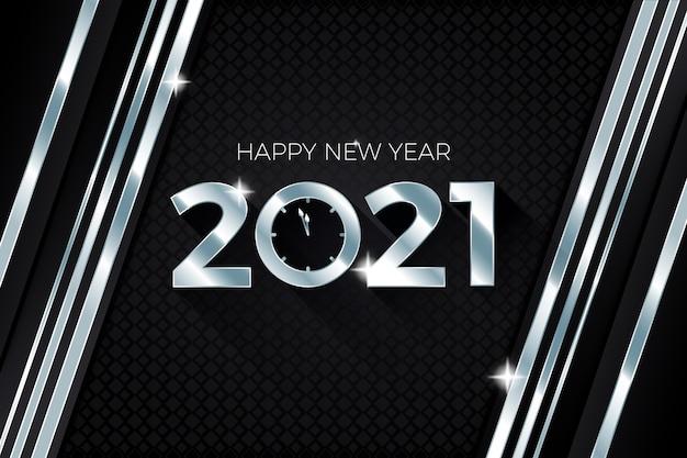 Año nuevo plateado 2021