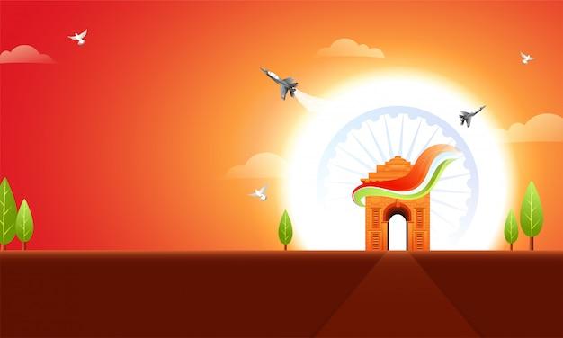 Antecedentes del día de la república india.
