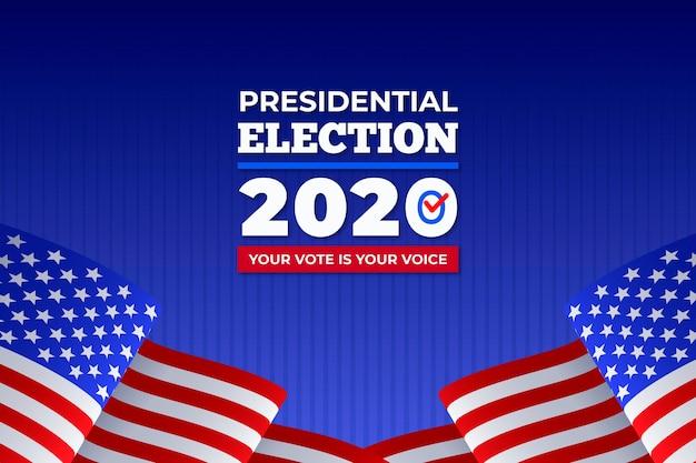 Antecedentes de las elecciones presidenciales de ee. uu. 2020