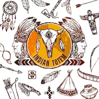 Antecedentes de los nativos americanos