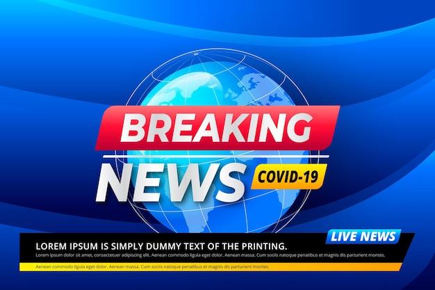 Antecedentes de las noticias de última hora sobre el coronavirus