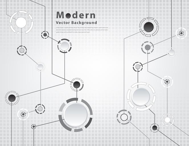 Antecedentes tecnológicos con diversos elementos tecnológicos