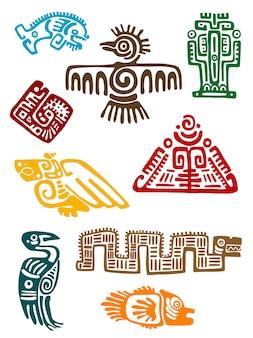 Antiguos monstruos mayas