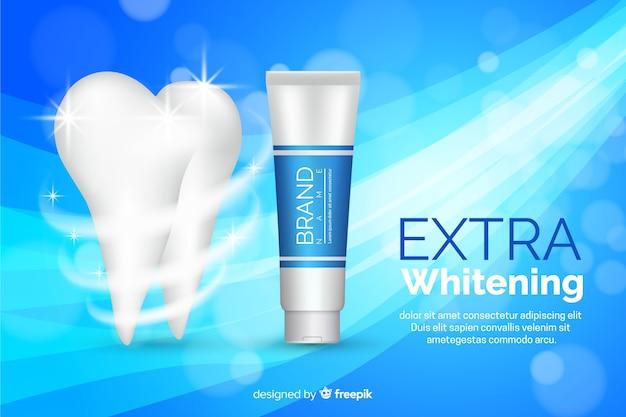 Anuncio de pasta de dientes