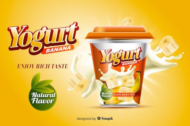 Anuncio de yogur
