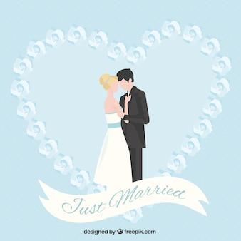 Apenas pares casados