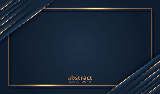 Aper corta el fondo dorado de lujo con textura de metal oscuro en estilo abstracto 3d
