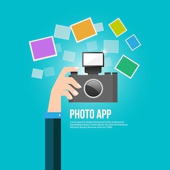 Aplicación de fotos