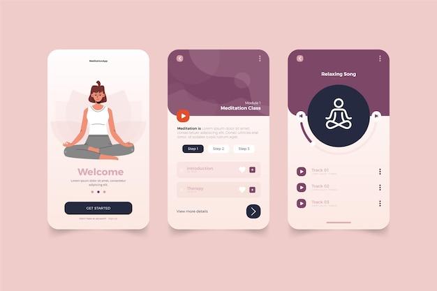 Aplicación de meditación
