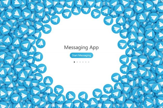 Aplicación de mensajería ui ux design