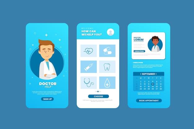 Aplicación de reserva médica