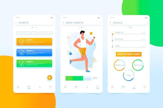 Aplicación de seguimiento de objetivos y hábitos