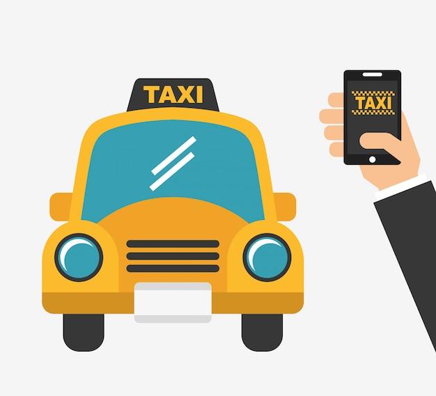 Aplicación de servicio de taxi