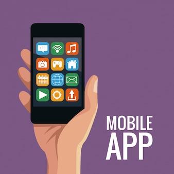Aplicación de teléfonos inteligentes móviles