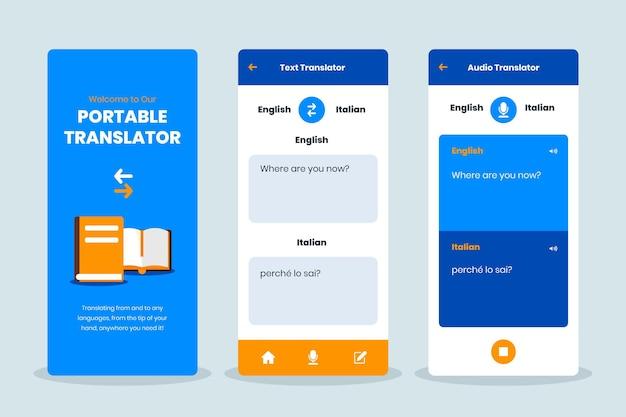 Aplicación traductora