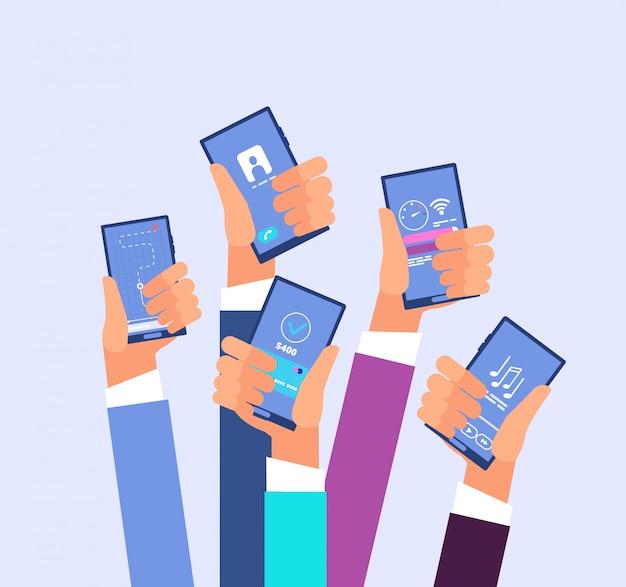 Aplicaciones de telefonía móvil