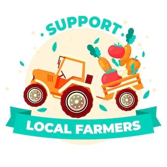 Apoye a los agricultores locales