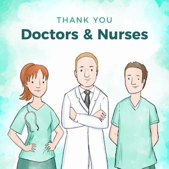 Apreciación de los profesionales médicos.