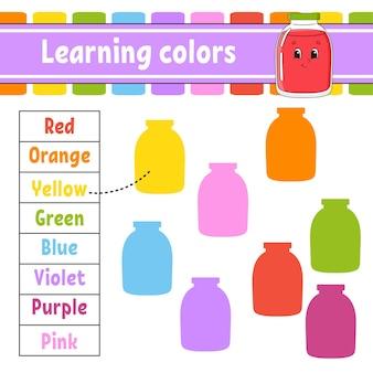 Aprender colores para niños
