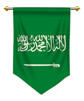 Arabia saudita banderín