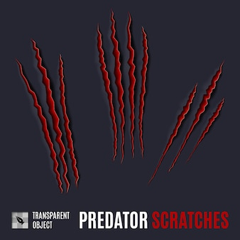 Arañazos de depredador