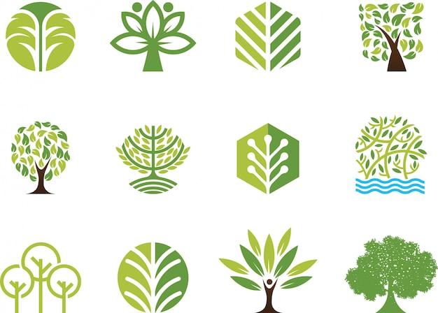 Árbol de ilustración vectorial