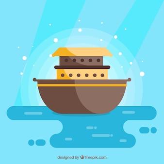 Arca de noé de la historieta