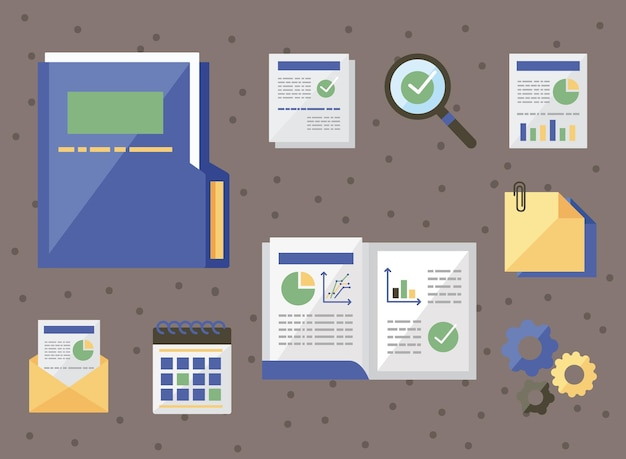Archivo con conjunto de símbolos de auditoría
