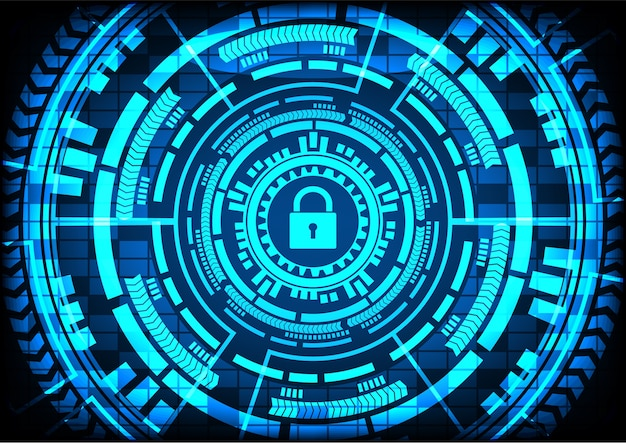 Archivos encriptados del virus abstracto malware ransomware