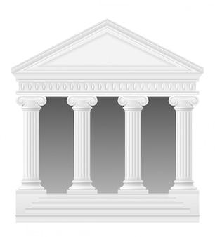 Arco antiguo ilustración vectorial de stock