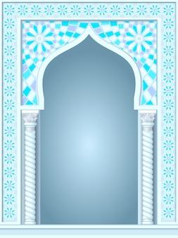 Arco en el estilo árabe