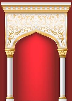 Arco oriental de hadas
