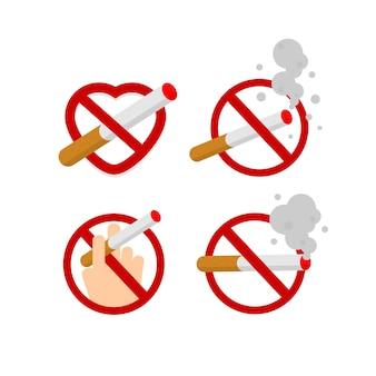 Área de no fumadores y fumadores