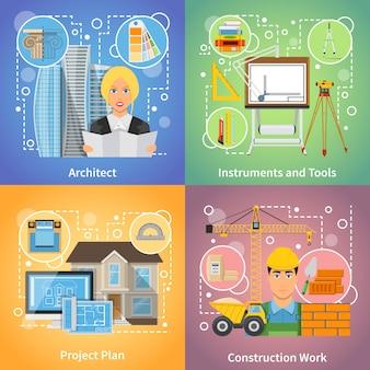 Arquitecto 2x2 design concept