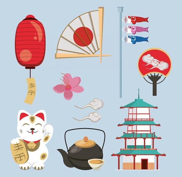 Arquitectura y elementos japoneses.