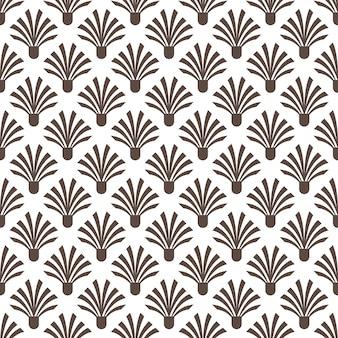 Art deco patrón sin fisuras textura de fondo decorativo