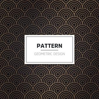 Art deco de patrones sin fisuras
