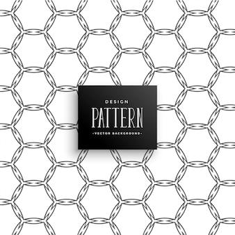 Arte abstracto línea panal patrón