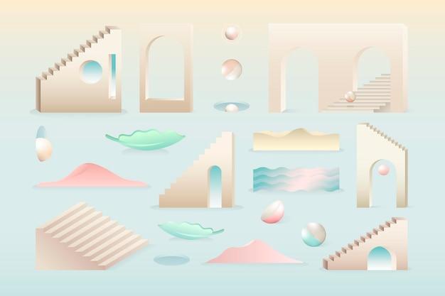 Arte abstracto moderno colorido