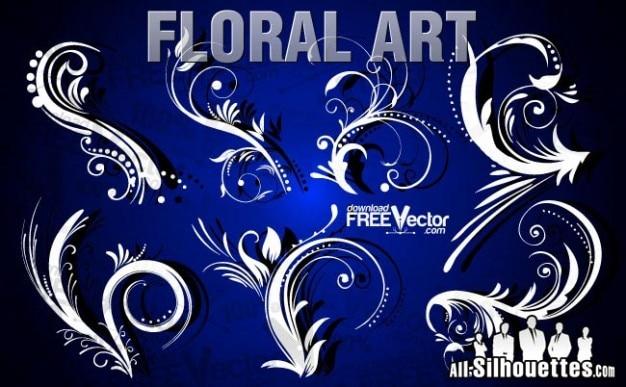 Arte libre clip de flores | todos los siluetas