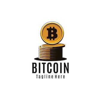 Arte del logotipo de bitcoin