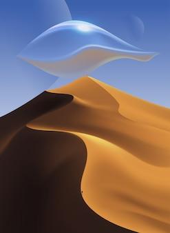 Arte del paisaje del desierto