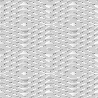 Arte de papel blanco compruebe la línea del marco cruzado de la puntada, fondo elegante del modelo de la decoración para la tarjeta de felicitación del banner web