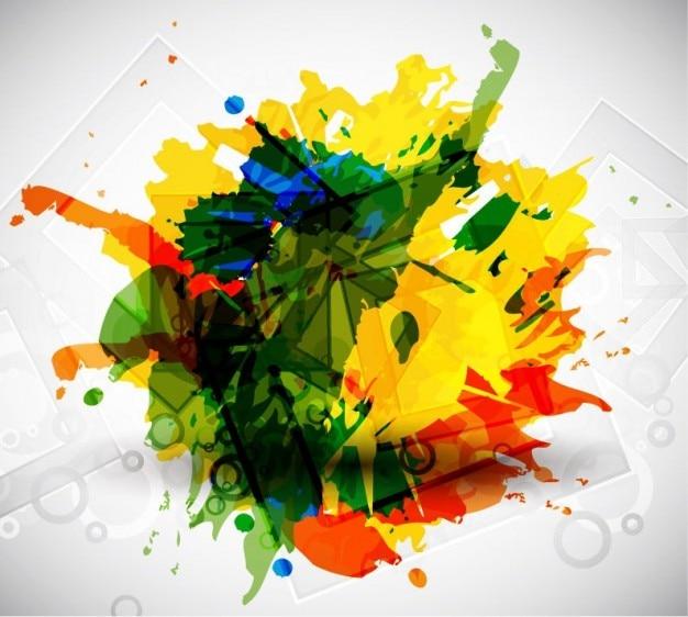 Arte vectorial colorido