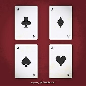 As del póker del vector