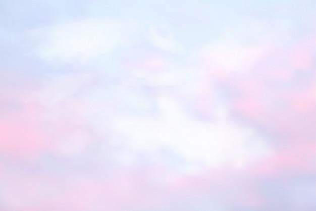 Asbtract cielo en color pastel.