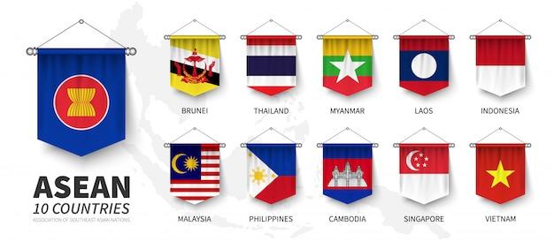 Asean. asociación de naciones del sureste asiático