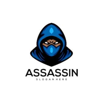 Asesino logo illutration