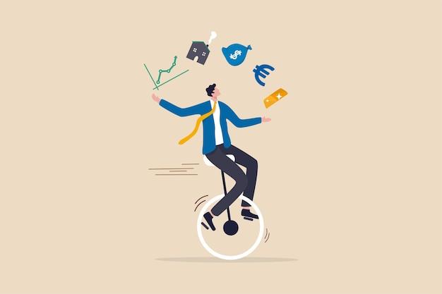 Asesor financiero, concepto de experiencia en inversiones profesionales